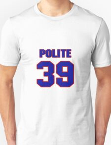 National football player Lousaka Polite jersey 39 T-Shirt