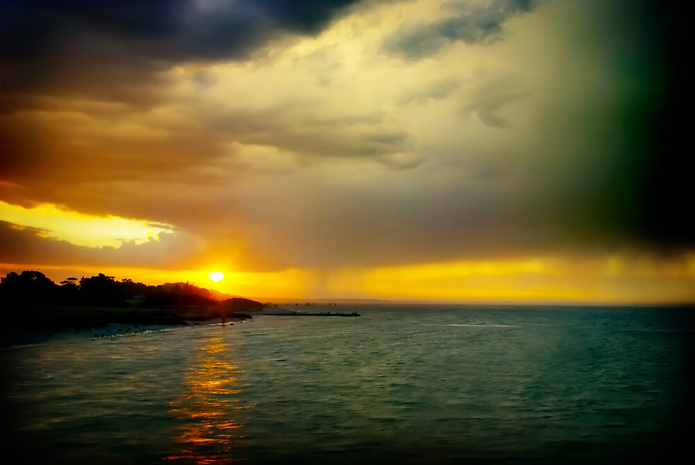 Dromana sunset by Melinda Kerr