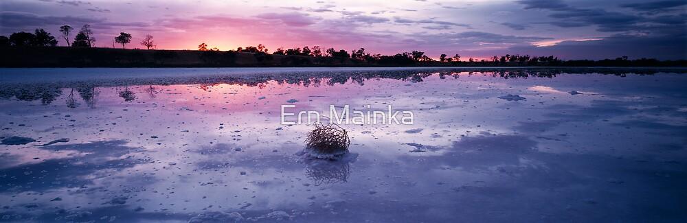 Pink Lakes I by Ern Mainka