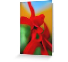 Flower Abstract.. Greeting Card