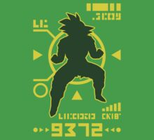 DBZ - Saiyan Power Over 9000 by Olipop