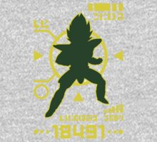 DBZ - Saiyan Power Over 18000 One Piece - Long Sleeve