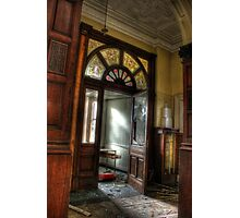 Stained glass, stained walls Photographic Print