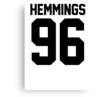 #LUKEHEMMINGS, 5 Seconds of Summer  Canvas Print