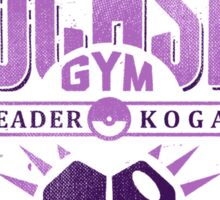 Fuchsia Gym Sticker