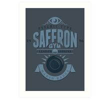 Saffron Gym Art Print