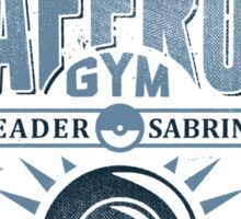 Saffron Gym Sticker