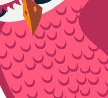 Cute single cartoon owl Sticker