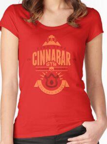 Cinnabar Gym Women's Fitted Scoop T-Shirt