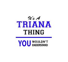 It's a TRIANA thing, you wouldn't understand !! by allnames