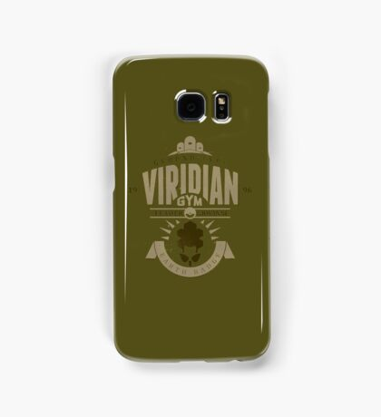 Viridian Gym Samsung Galaxy Case/Skin