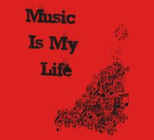 Music Is My Life  by Rebs O