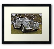 Bentley at Cars Rock Framed Print