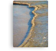 Sand Ribbon Canvas Print