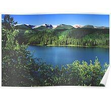 Sylvan Lake State Park Poster