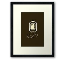 Coffee Transfusion Framed Print