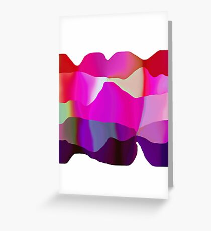 candy ribbons Greeting Card