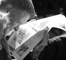 Reading the Paper by Dan Watkiss