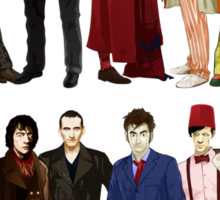 Doctor Who - The 13 Doctors Sticker