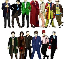 Doctor Who - The 13 Doctors by Chris Singley