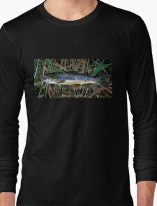 Brown Trout Blues Long Sleeve T-Shirt