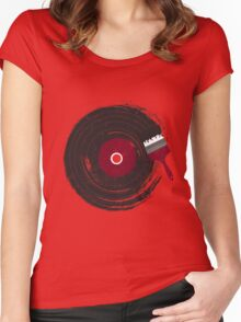 Art of Music Women's Fitted Scoop T-Shirt