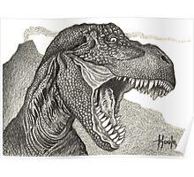 Cretaceous Tyrant - Tyrannosaurus Rex Poster