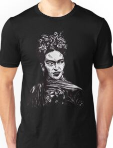Tender Self Belief (portrait of Frida Kahlo) Unisex T-Shirt