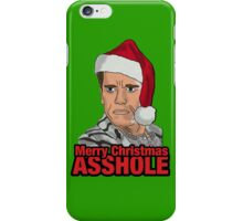 Merry Christmas, Asshole. iPhone Case/Skin