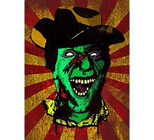 Cannibal 'Dead Dog' Kelly - Gunslinger from Hell Photographic Print