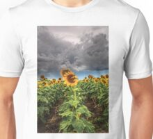 Sunflowers and Storms Darling Downs Qld Australia Unisex T-Shirt