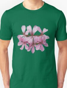 pink geranium Unisex T-Shirt