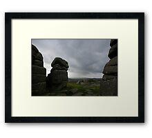 Dartmoors' true face Framed Print
