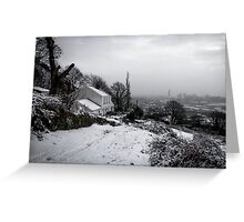 Christmas in Port Talbot - Bayview Cottage Greeting Card