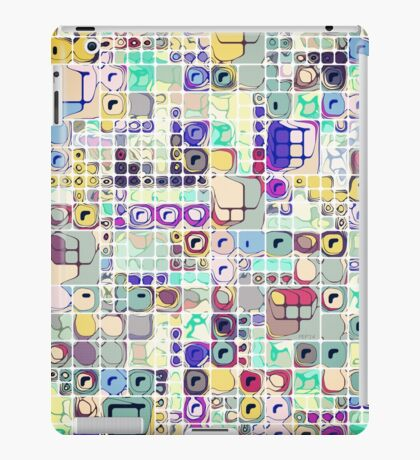 Colorful Shapes And Stuff iPad Case/Skin