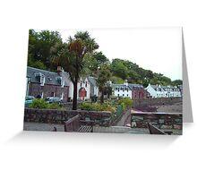 Scottish Palm Trees Greeting Card