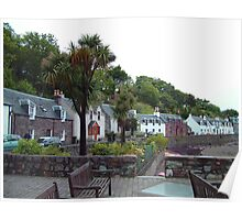Scottish Palm Trees Poster