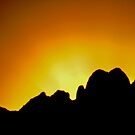Sunrise in the Organ Mountains by David DeWitt