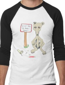 Do Not Feed the Bears! Men's Baseball ¾ T-Shirt