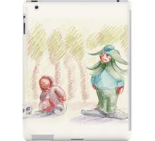 Arcaron baby: Occuria story 1 iPad Case/Skin