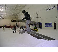 Skiing at Xscape Photographic Print