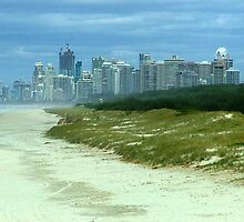 Gold Coast from Sand Pumping Jetty by pedroski