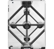 Point of view of the Atomium, Brussels  iPad Case/Skin