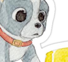 Winston Puppy Feast Sticker