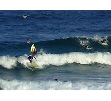 Surfers at Maroubra Beach  Photographic Print