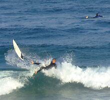 Surfers at Maroubra Beach 002 by pedroski