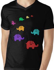 Elefantes Mens V-Neck T-Shirt