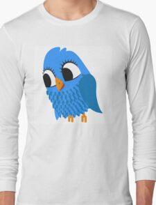 Adorable cartoon owl Long Sleeve T-Shirt