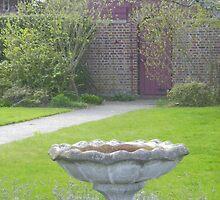 A view to a birdbath by Thomas Josiah Chappelle