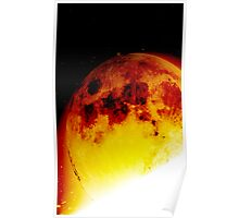 Sun consumes Moon Poster